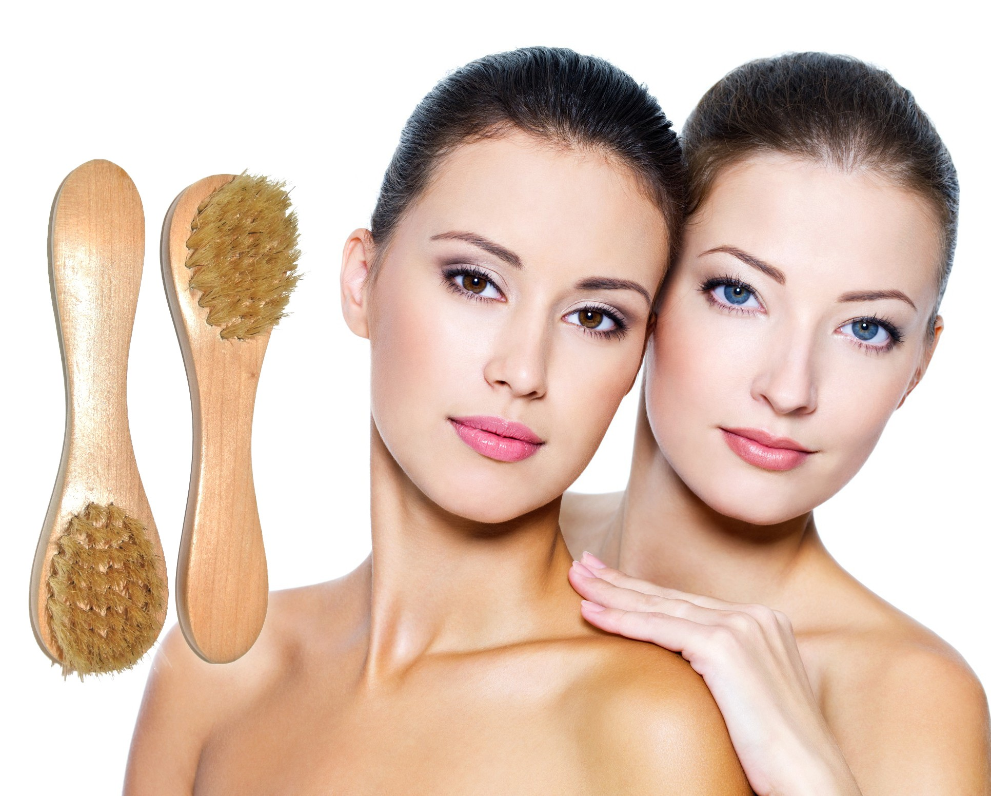 Image result for face brushing